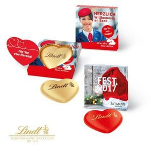 Schoko-Herz Lindt in Box 20g