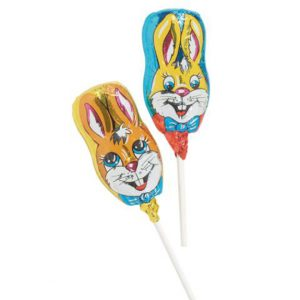 Schoko-Osterhasen-Lolly