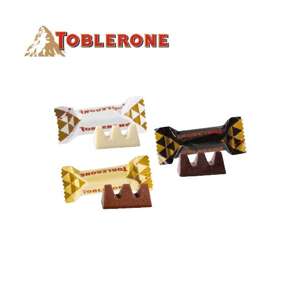 Füllung Toblerone Schokolade in 3 Geschmackssorten
