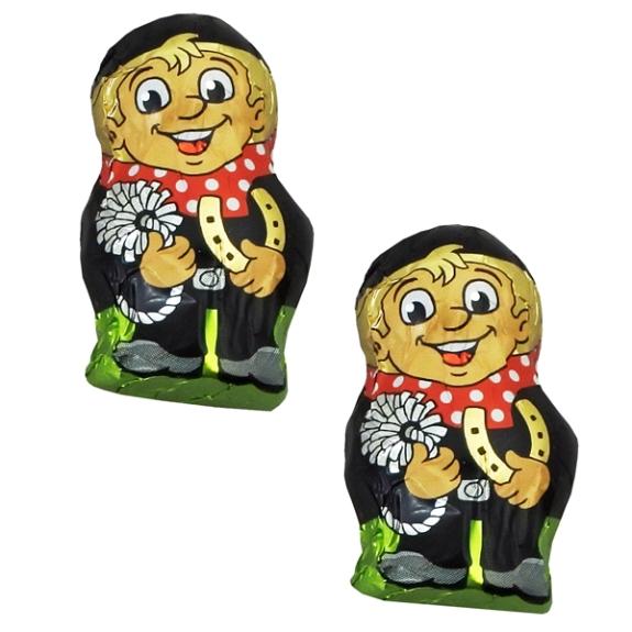 Schoko Schornsteinfeger mini aus Markenschokolade von Storz.