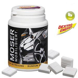 Die Dextro Energy Werbebox individuell ist mit 65g Mini Dextro Energy Traubenzucker gefüllt. Die Kunststoffbox mit Deckel kann individuell auf der umlaufenden Banderole individuell bedruckt werden nach Wunsch.