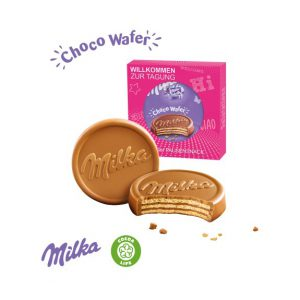 Milka Choco Wafer in individueller Werbekartonage
