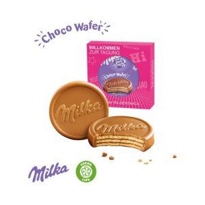 Milka Choco Wafer in individueller Werbekartonage