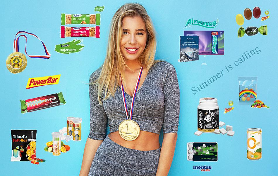 Werbeartikel Süßigkeiten bedrucken nach Wunsch mit Firmenlogo und Werbeslogan.