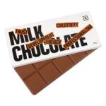 Tafel Schokolade mit Logo und Schokoladentafel mit Foto bedruckt als Werbeartikel.