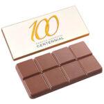 Schokoladentafel mit Logo und Schokoladentafel personalisieren als Werbeartikel.