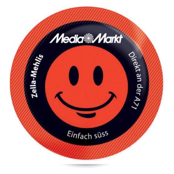 runde Zuckertüten mit Logo bedruckt als Werbeartikel