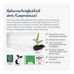 Nachhaltiger Tisch Adventskalender aus Papier